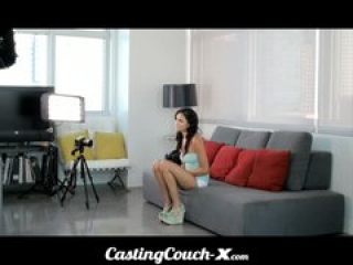 Casting Couch-X Dumb Florida girl loves to fuck on cam