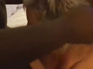 Blonde Wife Fucked By Two BBC While Husband Is Filming