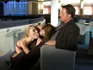 Anal Sex On A Cruise 3some