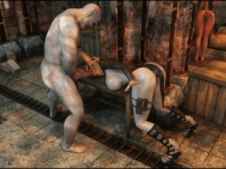 Savage Monster 3D Sex – Perils Of Lara Croft: Part 5