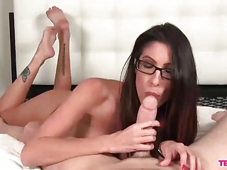 Sexy milf plays with your cock