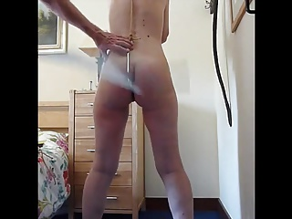 Spanked with Hook inside