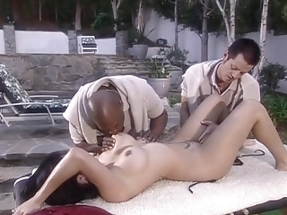 OL-threesome outdoor
