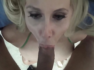 Hot Wife in green