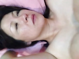 50yr old japanese mature gets facial