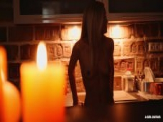 A Girl Knows – Mysterious Halloween atmosphere during sensual lesbian sex