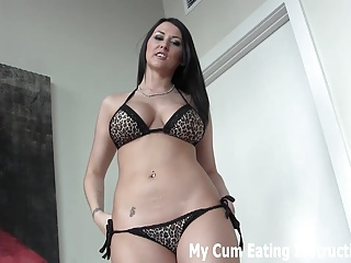 I bet I can get two loads of cum out of you JOI