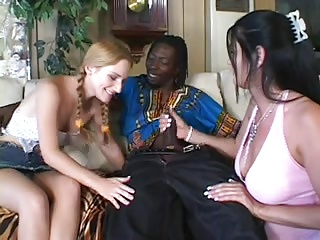 SB3 Skinny Ginger Teen Gets Spirits Raised By A BBC !