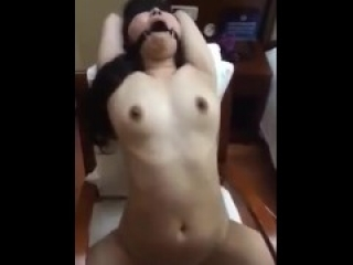 Bound moaning asian fucktoy