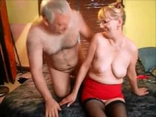 Old Man Gets Lucky With Woman