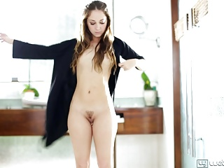 Remy LaCroix and Jenna Sativa Lesbo Bathroom Sex