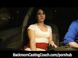 Mexican Waitress Anal Casting