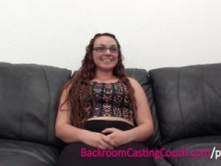 Curvy Amateur's First Blowjob Ever