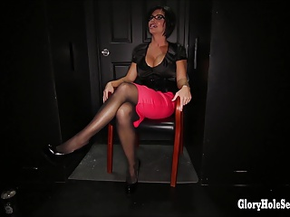 Gloryhole Secrets Shay Fox glory hole first time