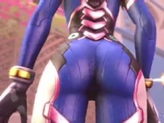 D.va buttcrush giantess