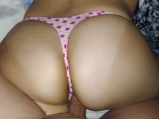 LUCKY THONG!! BIG ASS!!