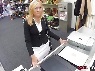 Hot Milf Banged At The PawnShop – XXX Pawn