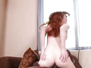 STP1 Hot Ginger Teen Loves BBC !