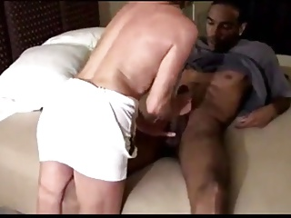 blonde mature gets a bbc creampie