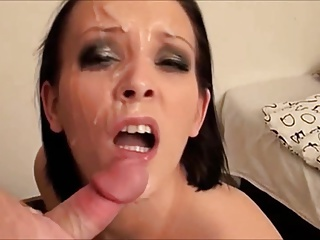 So many facials so much cum