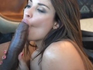 Big Tit Wife gets a Thick Black Cock and a Big Creampie