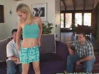 Skinny Wife Get Drilled By A Pornstar